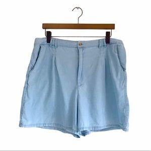 ASOS Light Denim High Waisted Shorts